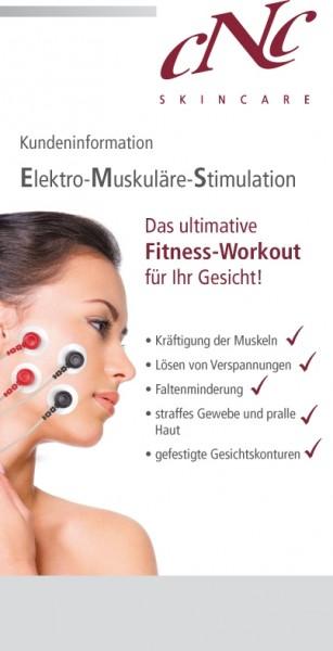 Elektro-Muskuläre-Stimulation (EMS) Endkundenbroschüre