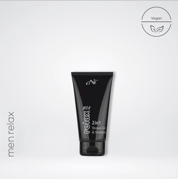 men relax 2in1 Shower Gel & Shampoo, 150 ml