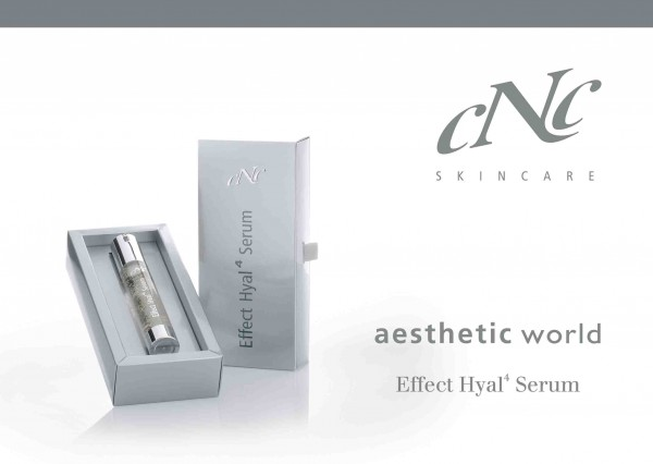 aesthetic world Effect Hyal 4 Serum Endkundenbroschüre