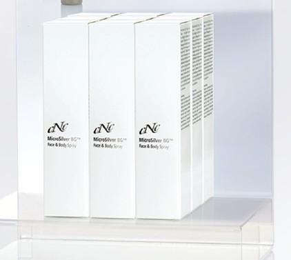 Displaybestückung MicroSilver Face & Body Spray, 100 ml