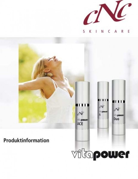 Vita Power Produktinfobroschüre