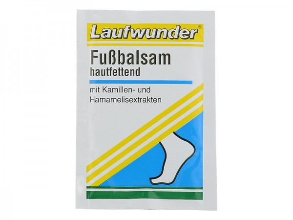 Laufwunder Fußbalsam, hautfettend, Probe, 3 ml