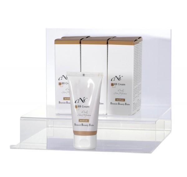 Displaybestückung BB Cream medium, 6x 50 ml + 1 Tester + 10 x Endkundenbroschüre