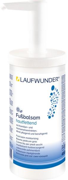 Laufwunder Fußbalsam hautfettend, Spenderdose, 450 ml