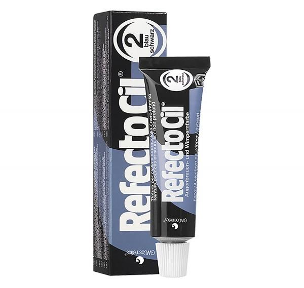 RefectoCil Wimpernfarbe #2 blauschwarz, 15 ml