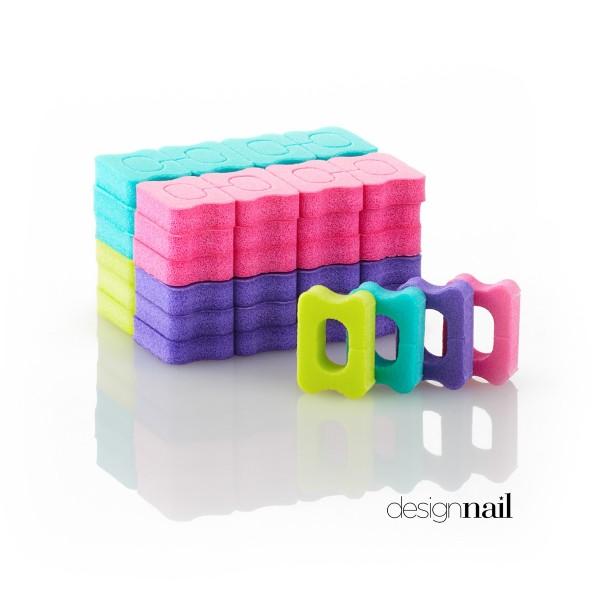 Finger- und Zehentrenner, Farblich sortiert , 48 Stück