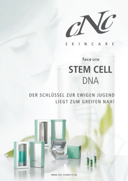 Standposter face one Stem Cell DNA