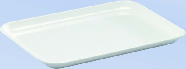 Ablagetablett, aus Melamin, 18 x 24 x 1,7 cm