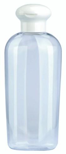 Kosmetik-Flasche, Kunststoff klar, 200 ml 10er Pack