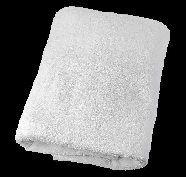Handtuch, 180 x 70 cm, weiß