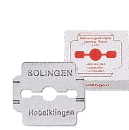 Ersatzklingen, für Hornhaut Hobel, 10 x10 Stk.