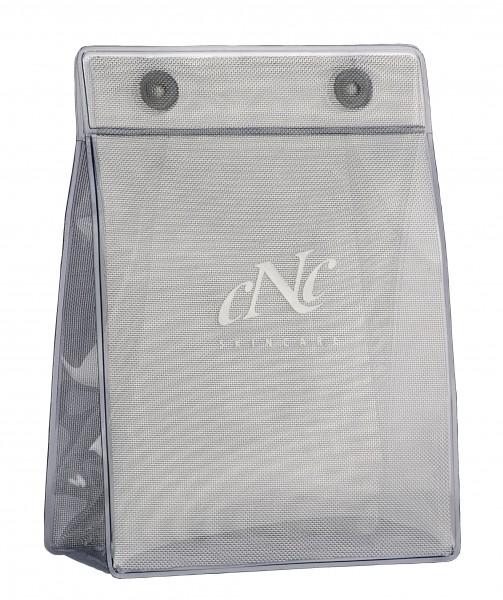 Transparente Tasche mit CNC-Logo