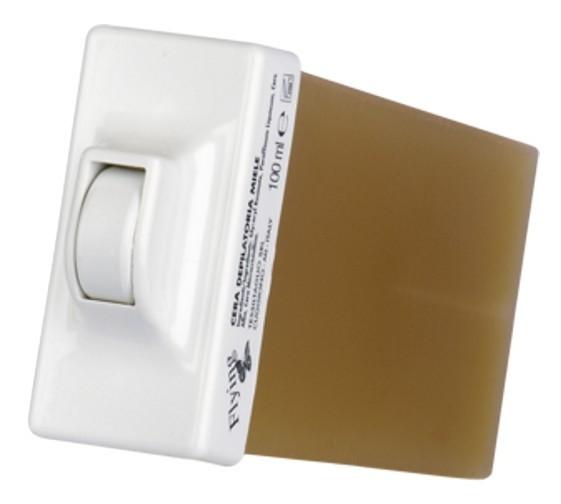 Wachspatrone, Standard, 100 ml, kleiner Rollaufsatz