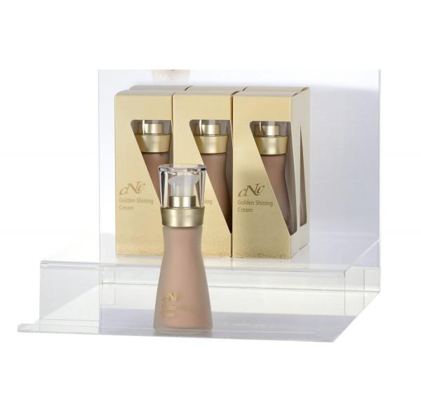 Displaybestückung Golden Shining Cream