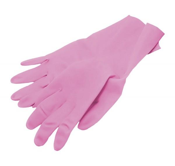 Handschuhe Nitril pink, puderfrei, Größe S, 100 Stk.