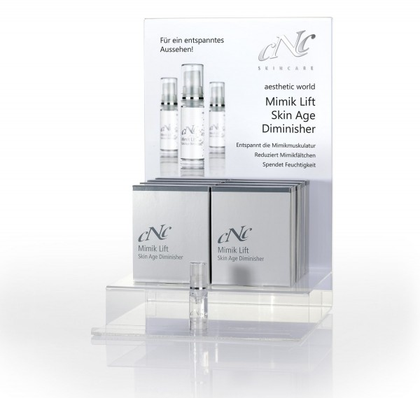 aesthetic world Mimik Lift Display-Komplettangebot, 8 x 5 ml + 1 Tester