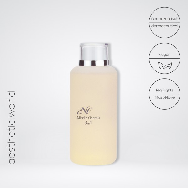 aesthetic world Micelle Cleanser 3in1, 200 ml