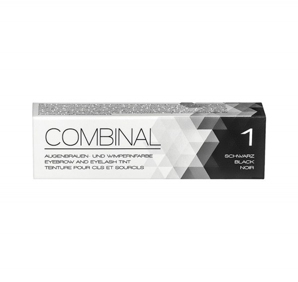 COMBINAL Wimpernfarbe schwarz, 15 ml