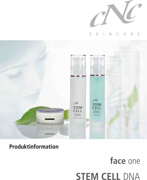 face one Stem Cell DNA Produktinfobroschüre