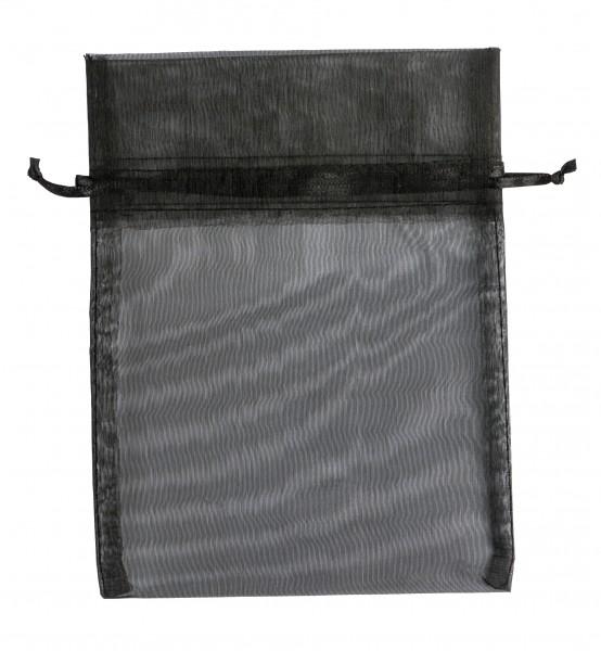 Organzabeutel schwarz, 14x18 cm, leer