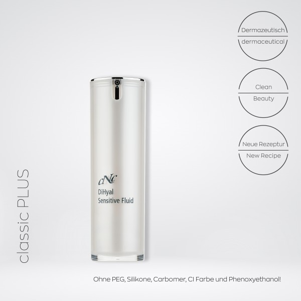classic plus DiHyal Sensitive Fluid, 30 ml