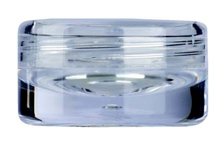 Kosmetik-Tiegel, Kunststoff klar, 5 ml 10er Pack
