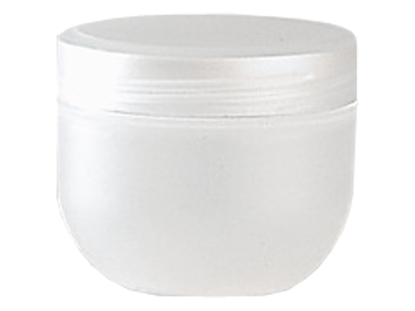Kosmetik-Tiegel, Kunststoff natur, 10 ml