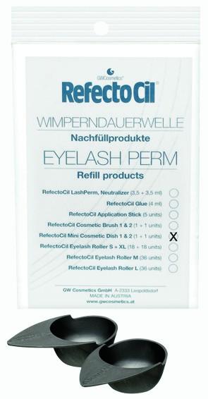 RefectoCil Eyelash Curl & Lift Refill Mini Kosmetikschalen Nr. 1 & 2, je 1 Stück