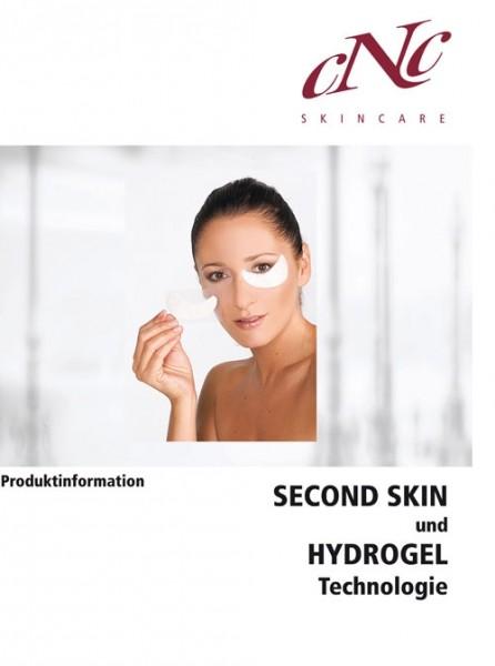 aesthetic world Hydrogel Produktinfobroschüre