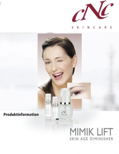 aesthetic world Mimik Lift Produktinfobroschüre