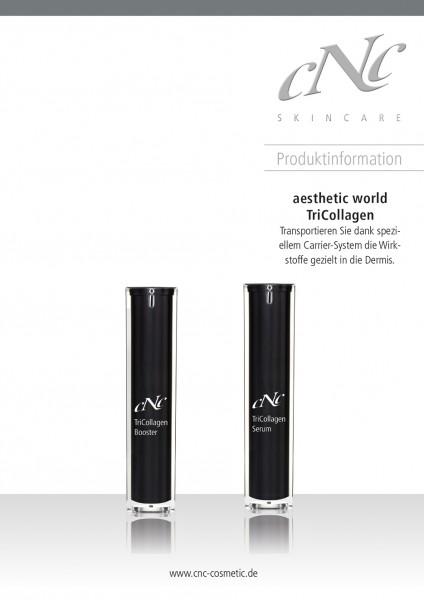 aesthetic world TriCollagen Produktinfobroschüre