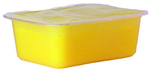 Paraffin, mit Olivenöl, zitrusgelb, 2 x 500 g